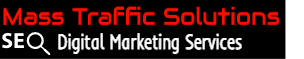 Mass Traffic Solutions logo for SEO digital marketing services in Fort Worth.